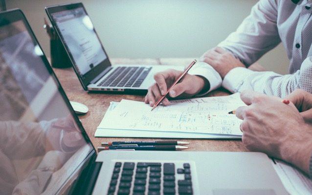 resume, office, laptop, writing