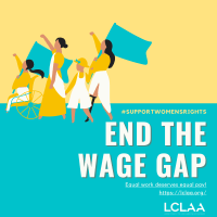 gender wage gap, Latina Equal Pay Day
