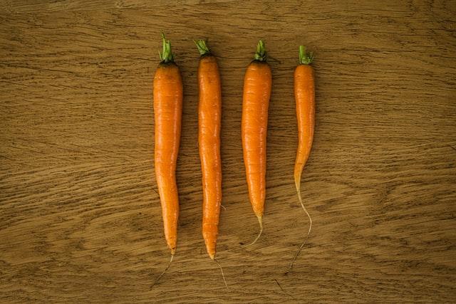 carrots, snacks to boost productivity
