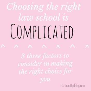 choosing the right law school