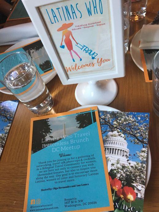 Latinas Who Travel DC Event
