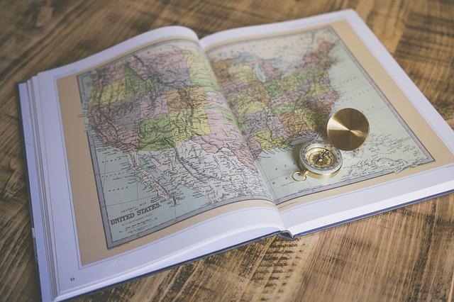 latina world traveler - map of the world