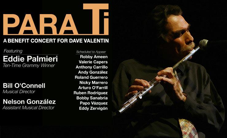 Benefit Concert For Dave Valentin Latin Jazz Network
