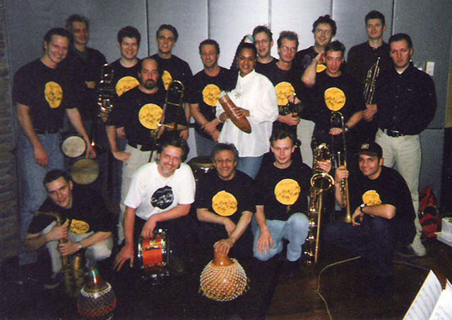 Edy Martínez and the Cubop City Band, Holland, 2000.