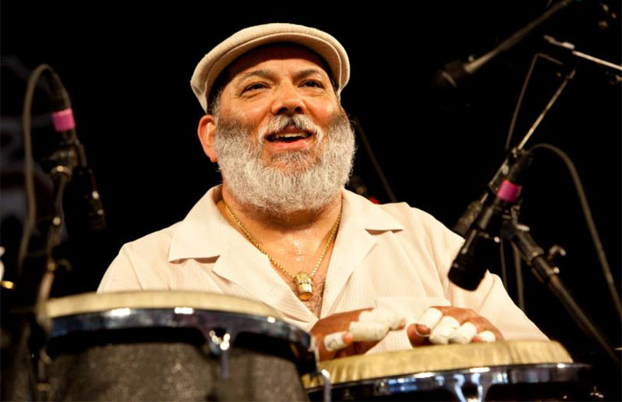 Poncho Sanchez at Tucson Jazz Fest 2019