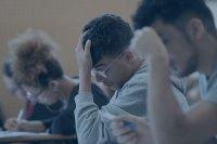 Estudiantes bajo estres