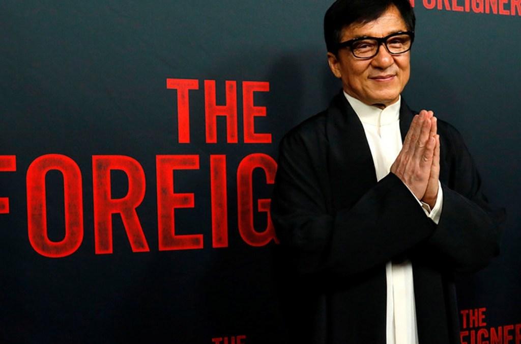 Jackie Chan ofrece dinero por vacuna para el coronavirus.