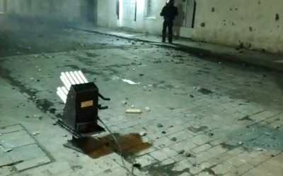 En Popayán, juez prohíbe uso de arma Venom, para control de protestas, por parte del Esmad