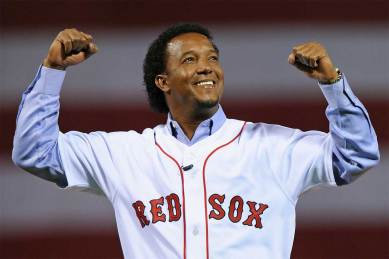 Pedro Martinez of the Boston Red Sox