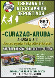 Dominican sports tourism in Curazao and Aruba