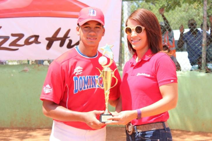 SAMIL DE LA ROSA, MVP del torneo