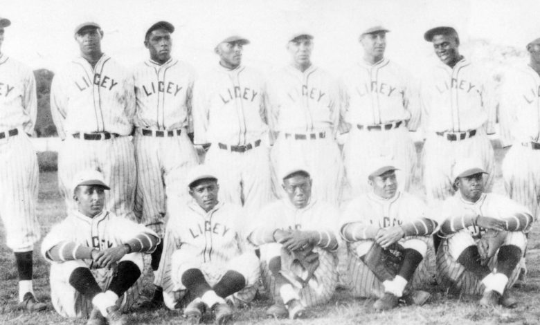 Members of the Tigres del Licey, 1929 national champions.