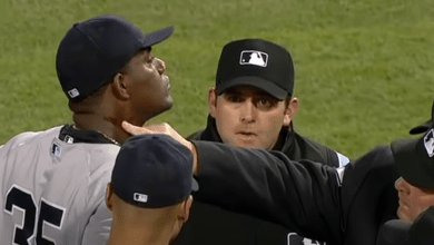Photo of The day Michael Pineda got into a sticky situation