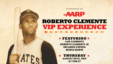 Photo of The Roberto Clemente VIP Experience virtual event on Aug. 26 gives fans a personal glimpse into the baseball icon's life