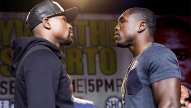 Photo of Mayweather vs. Berto to Be Presented Live in Select U.S. Cinemas