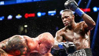 Photo of Wilder:  WBC Heavyweight King with goals to unify the belts