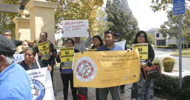 Protestaron contra tácticas de miedo del ICE  en arrestos en La Colonia de Oxnard