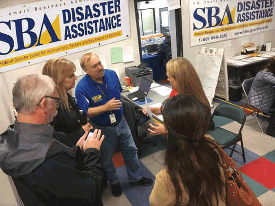 SBA ya abrió oficinas de ayuda a negocios afectados por los incendios / SBA opens Center to help business owners affected by the fires