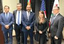 Presentaron al nuevo Cónsul Titular de México en Oxnard: Euclides del Moral