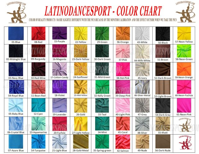 COLOR-latinodancesport.com latino dance sports dress latin smooth standard rhythm