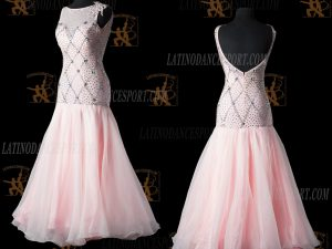 LATINODANCESPORT.COM-Ballroom STANDARD SMOOTH Dance Dress-SDS-09