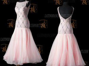 LATINODANCESPORT.COM-Ballroom STANDARD SMOOTH Dance Dress-SDS-09