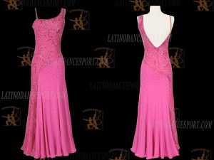 LATINODANCESPORT.COM-Ballroom STANDARD SMOOTH Dance Dress-SDS-24