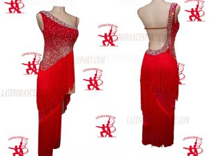 LATINODANCESPORT.COM-Ballroom Latin Rhythm Dance Dress-LDS-80