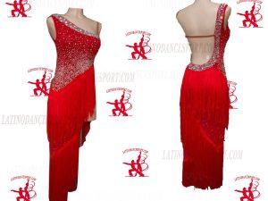 LATINODANCESPORT.COM-Ballroom Latin Rhythm Dance Dress-LDS-80