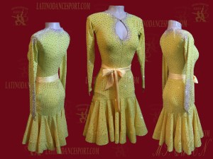 LDS-84-Ballroom Dance Costumes Latin Dress For Competition