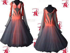 Latinodancesport.com-Ballroom Standard Smooth Dance Dress-SDS-43