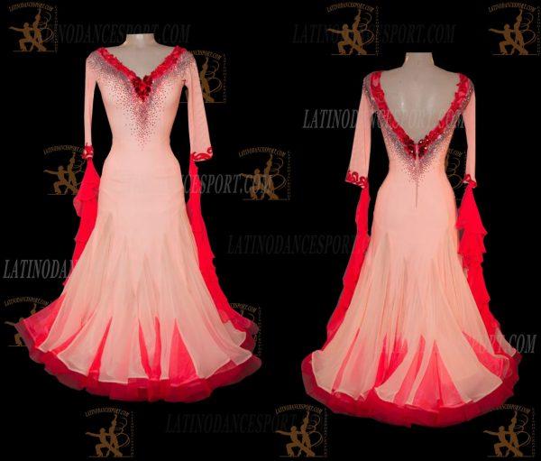 Latinodancesport.com-Ballroom Standard Smooth Dance Dress-SDS-45
