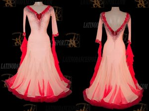Latinodancesport.com-Ballroom Standard Smooth Dance Dress-SDS-45