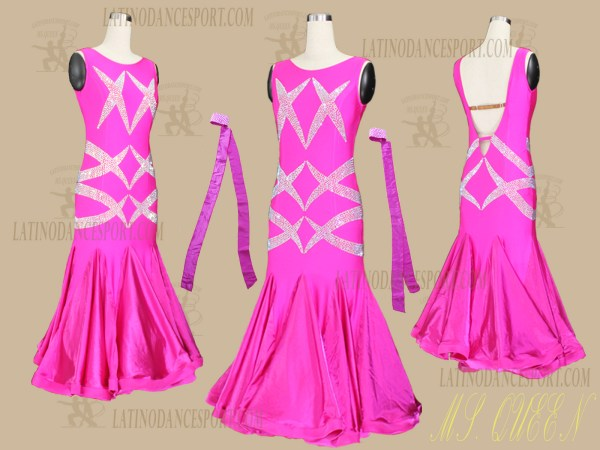 Latinodancesport.com-Ballroom Standard Smooth Dance Dress-SDS-57