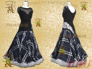 Latinodancesport.com-Ballroom Standard Smooth Dance Dress-SDS-60