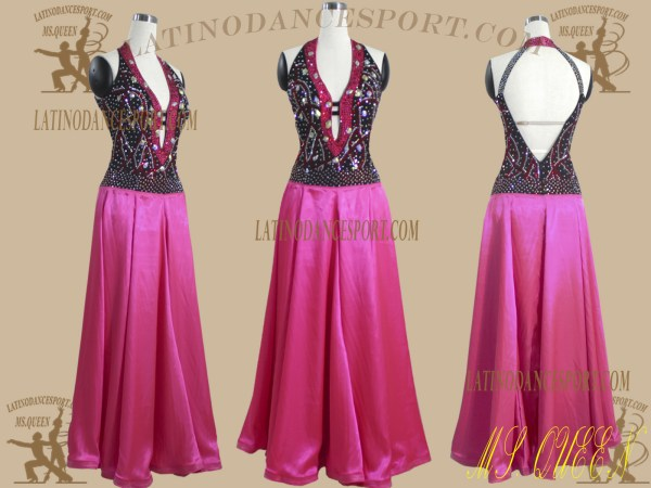 Latinodancesport.com-Ballroom Standard Smooth Dance Dress-SDS-61