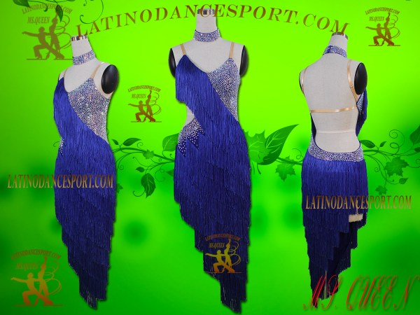 Latinodancesport Ballroom Dance LDS-01 Latin Dress Tailored