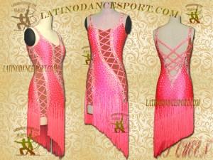 Latinodancesport Ballroom Dance LDS-03A Latin Dress Tailored