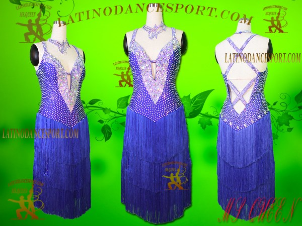 Latinodancesport Ballroom Dance LDS-103 Latin Dress Tailored