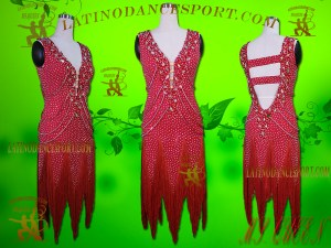 Latinodancesport Ballroom Dance LDS -90A Latin Dress Tailored