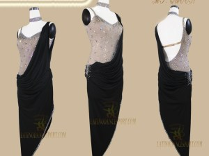 Latinodancesport Ballroom Dance LDS -112 Latin Dress Tailored
