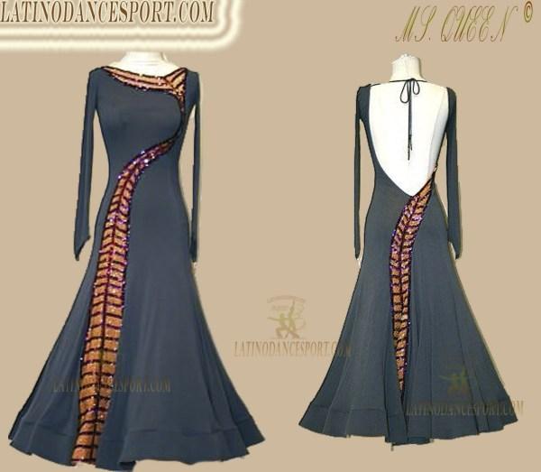 Latinodancesport Ballroom Dance SDS-76 Standard/Smooth Elegant Dress Tailored Competition