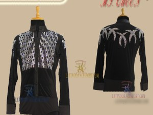 LATINODANCESPORT.COM-Ballroom LATIN RHYTHM Dance Body Shirt-MDS-04B