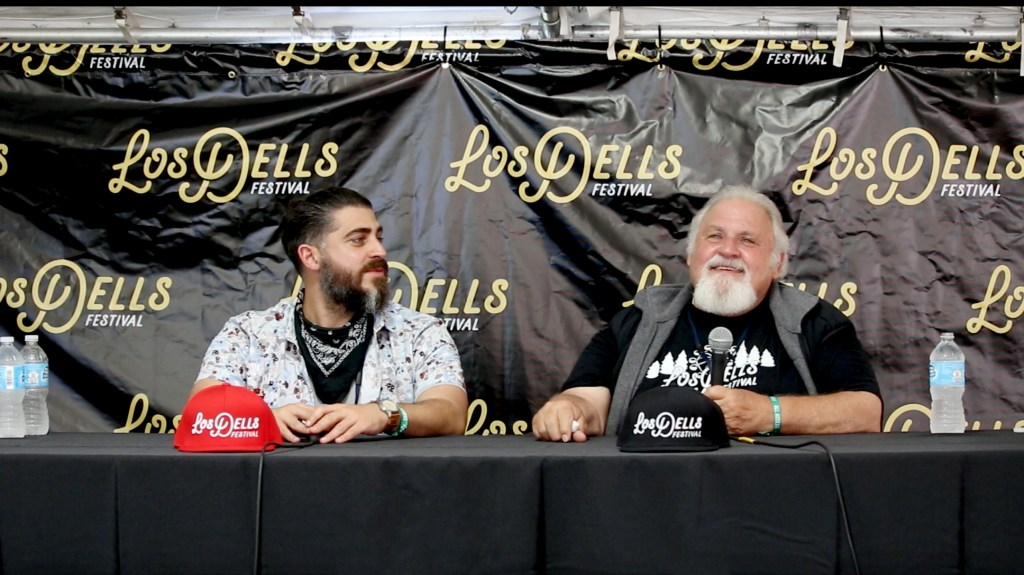 Los Dells Press Conference with organizers