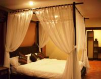 Curtain: Charming Canopy Bed Curtains For Bedroom ...