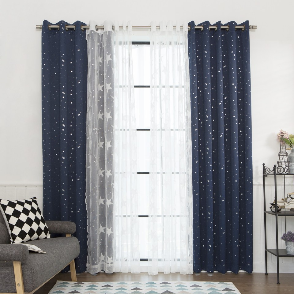 Curtain Luxury Ruffle Blackout Curtains For Best Windows