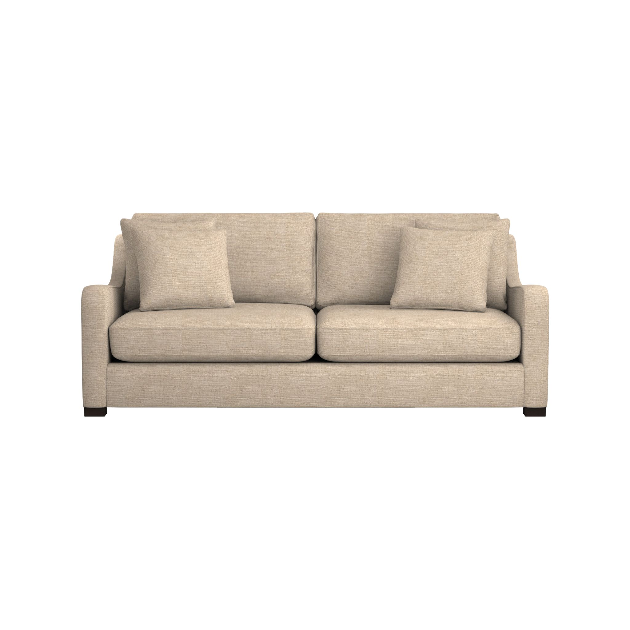 crate and barrel lounge sofa pilling ikea karlstad l shape furniture sectional