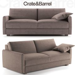 Crate And Barrel Sofa Cushion Replacement Turner Leather Square Arm With Chaise Sectional Furniture Style For Less