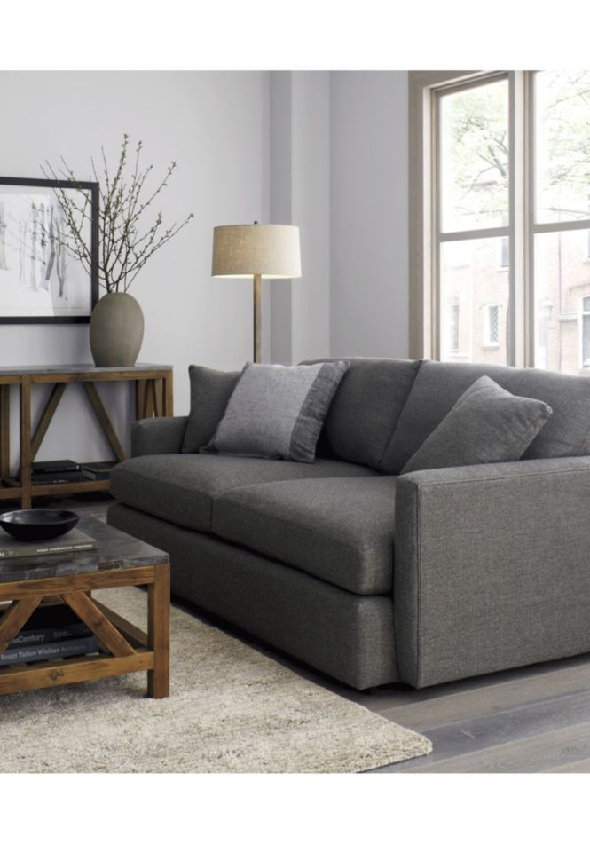 Crate And Barrel Couch Sofa Apartment
