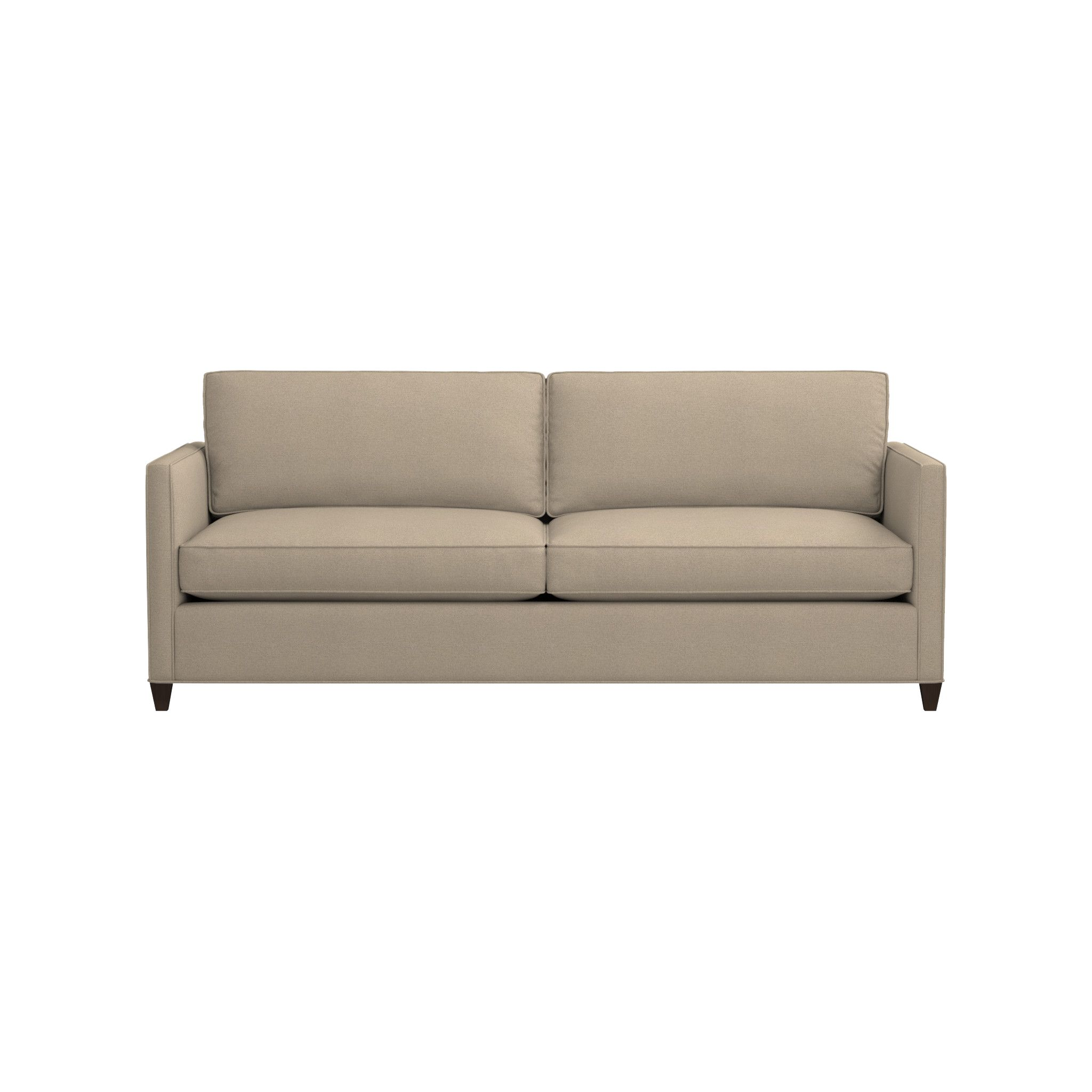 crate and barrel davis sofa leather standard height of side table furniture style for less